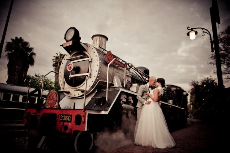 Weddings at Rovos Rail Station