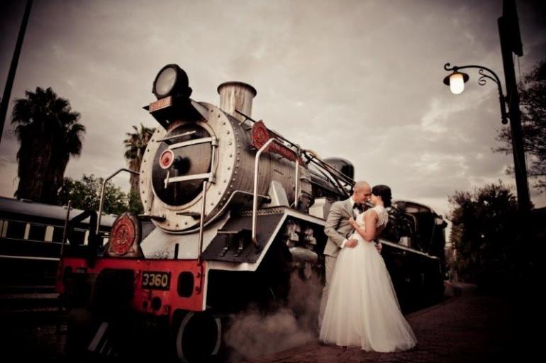 Weddings at Rovos Rail Station