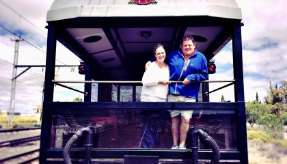 A 50th birthday surprise on board Rovos Rail