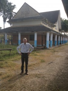 Rohan Vos in Dilolo on the DRC Angolan border