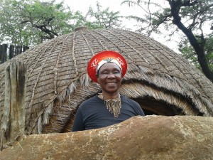 Traditional zulu woman