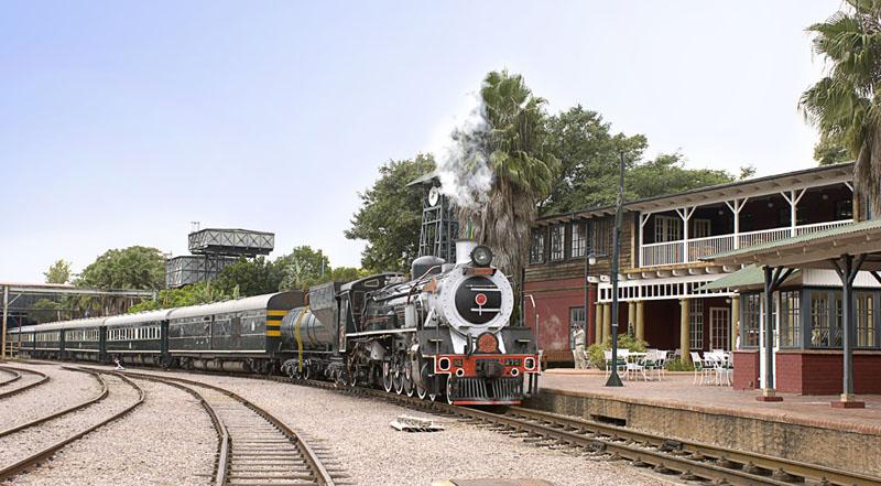 Rovos Rail Steam Locomotives - Rovos Rail